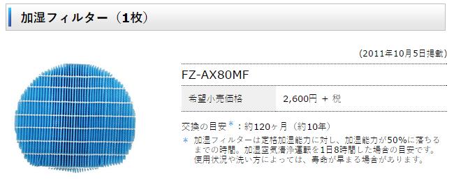 FZ-AX80MF-SO